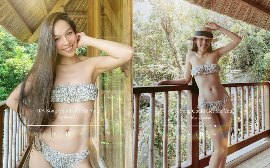 """Hiền Thục tung hình bikini nóng bỏng ở tuổi U40 gây """"sốt"""""""