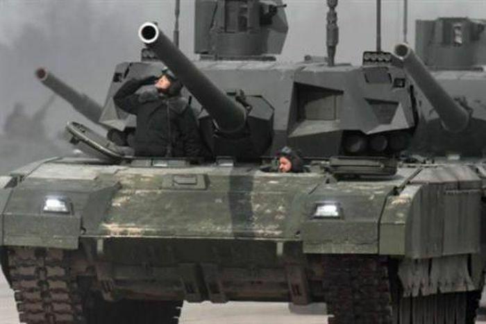 """Đại đội T-14 của Nga có sức mạnh """"khó cưỡng"""""""