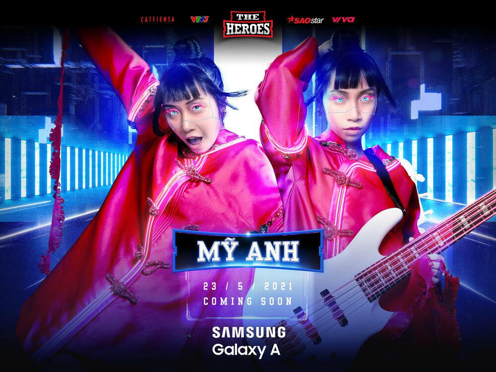 Ca sĩ Gen Z kiêm Producer – Mỹ Anh chọn hình tượng chiến binh Raya tại The Heroes 2021