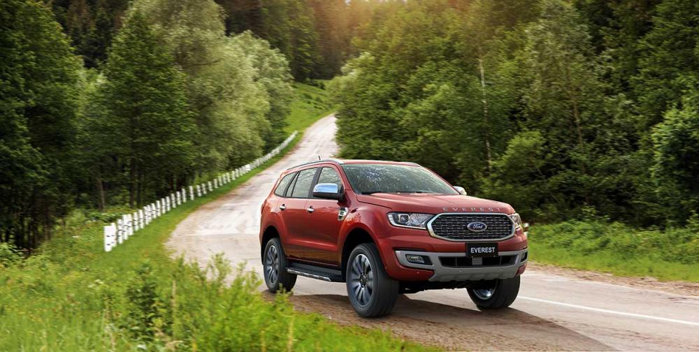 Ford Everest ghi nhận doanh số Quý I tăng 49% so với cùng kỳ năm ngoái, tương đương 1.459 xe