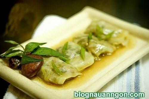 Hướng dẫn cách làm món bắp cải cuộn thịt vừa mềm vừa thơm cực đơn giản !