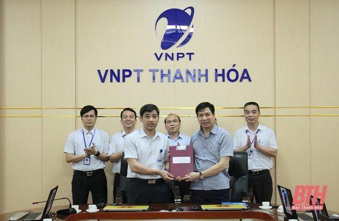 VNPT Thanh Hóa – Sở Giáo dục và Đào tạo Thanh Hóa ký kết thỏa thuận hợp tác về chuyển đổi số giai đoạn 2021-2025