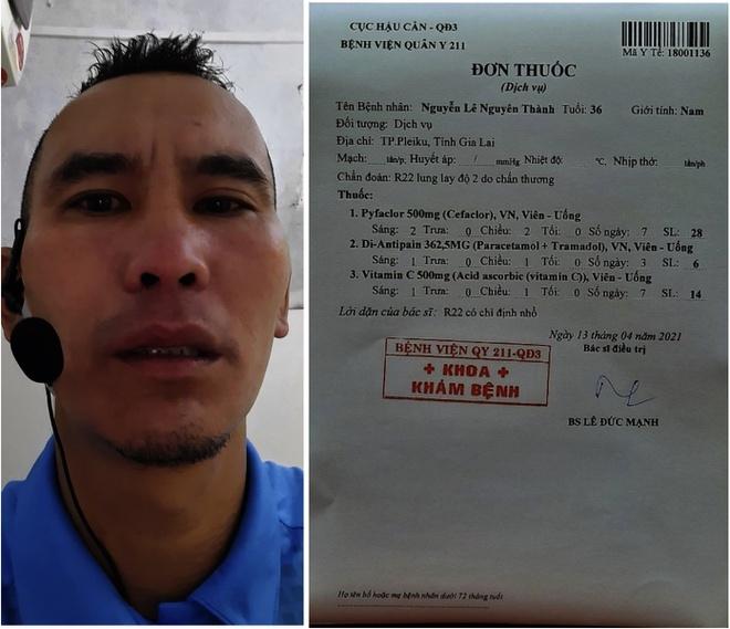 """Trọng tài trận Thanh Hóa – CLB TP.HCM bị gãy răng sau cú """"thiết đầu công"""" của Thanh Thắng"""