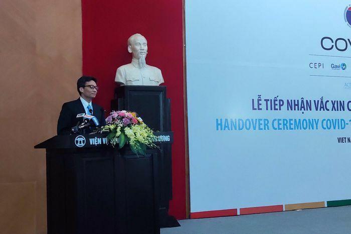 """""""Việt Nam sẽ sử dụng tốt nhất vaccine Covid-19 của COVAX Facility"""""""