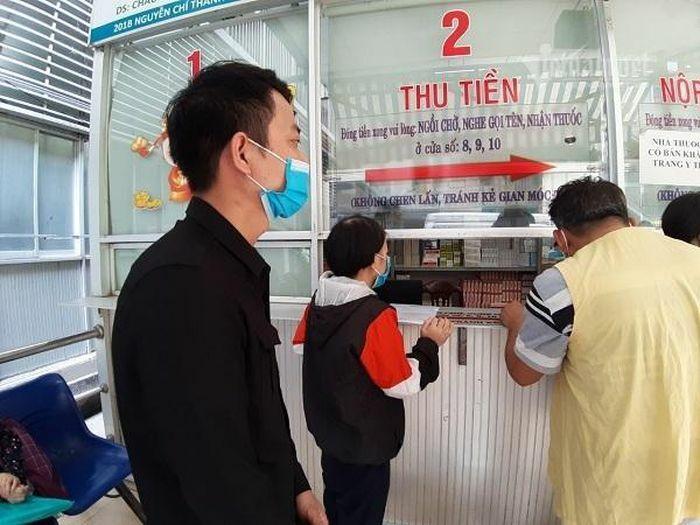 Chị Phạm Thị Minh gửi lời cảm ơn các nhà hảo tâm