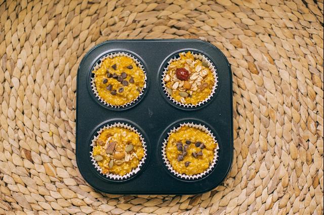 Công thức làm bánh muffin yến mạch dinh dưỡng không lo tăng cân