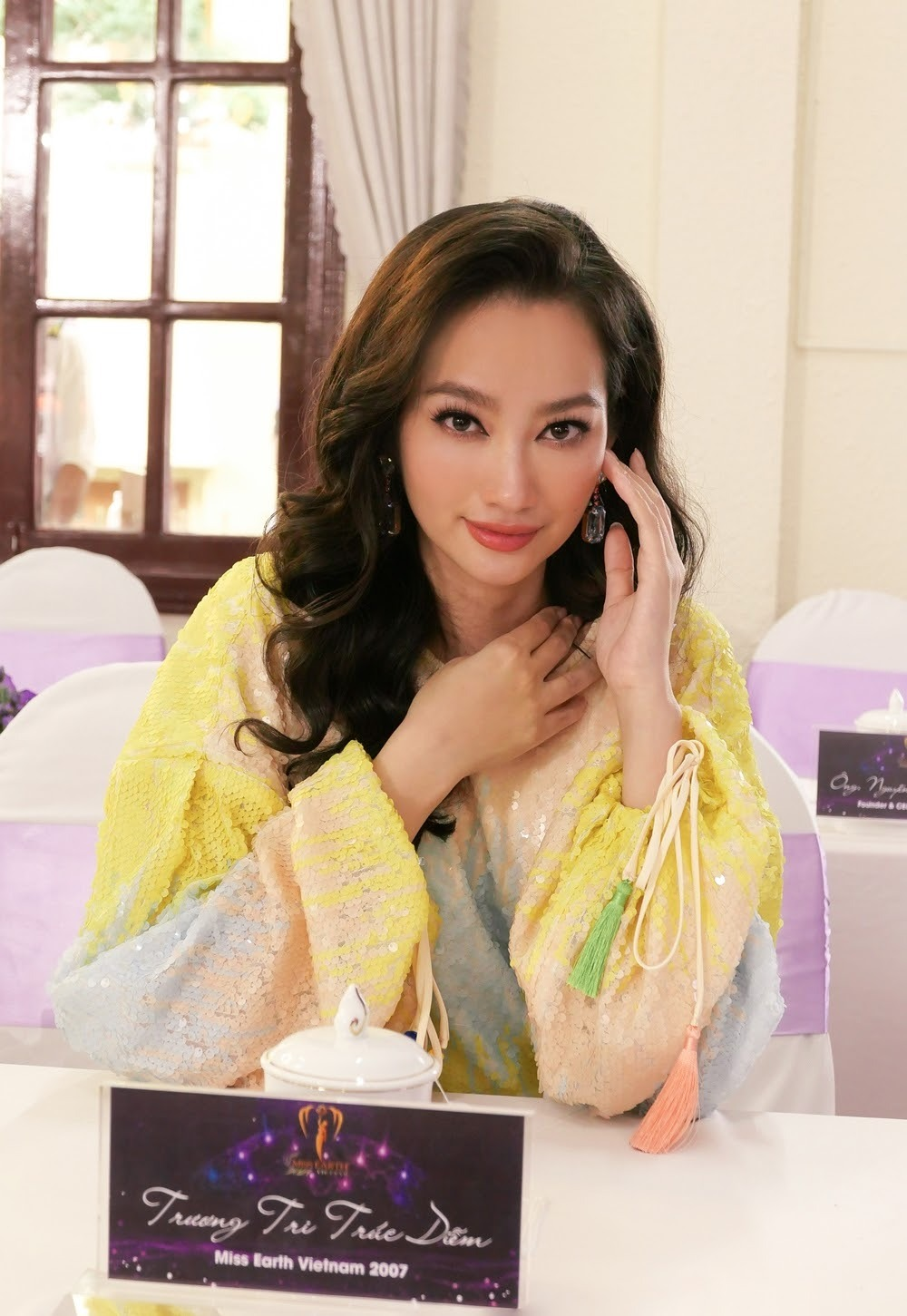 Trúc Diễm thừa nhận điểm hạn chế khi đại diện Việt Nam thi Miss Earth 2007
