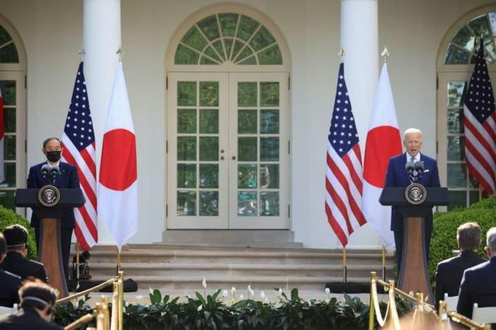 Mỹ – Nhật ra tuyên bố chung về eo biển Đài Loan
