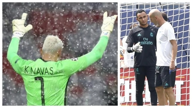 """Zidane không muốn Keylor Navas rời Real…"""