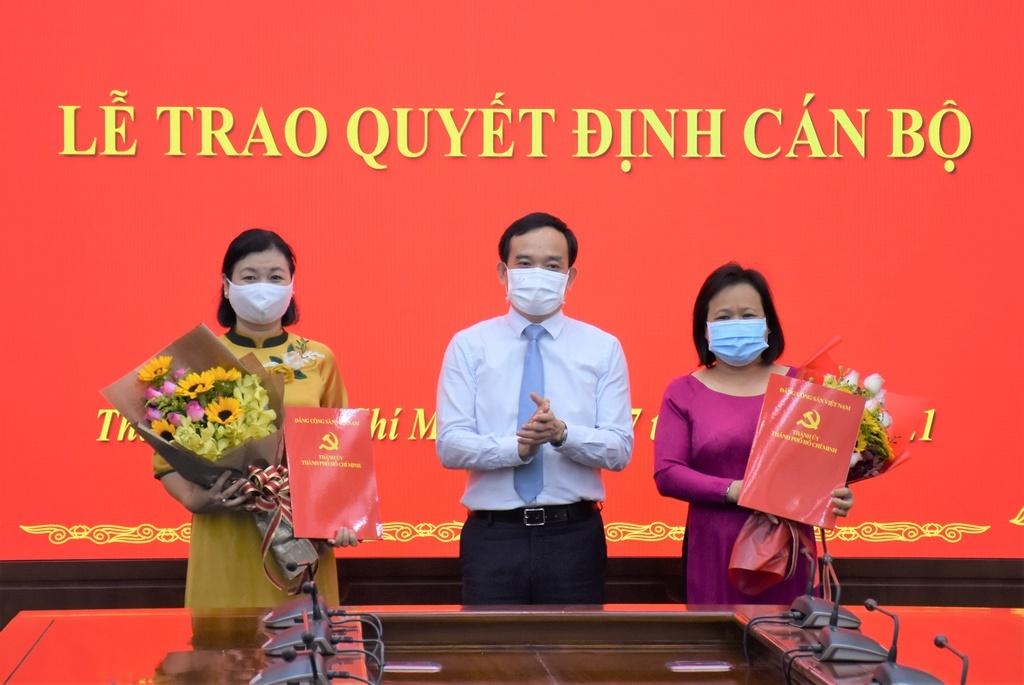 Thành ủy TP.HCM bổ nhiệm tổng biên tập 2 cơ quan báo chí