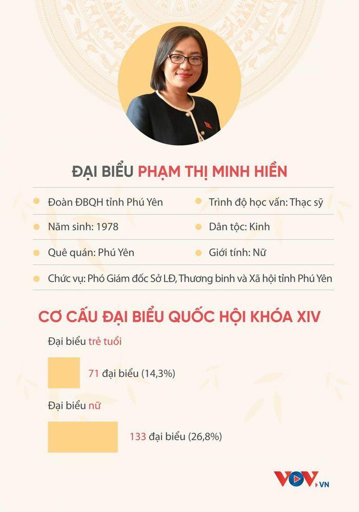 ĐBQH Phạm Thị Minh Hiền: Nghị trường không phải là nơi dành cho người mềm yếu