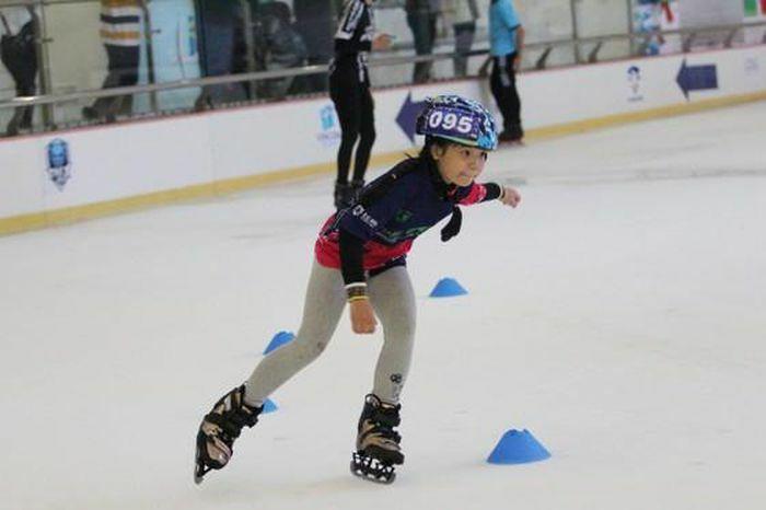 Sôi nổi giải Vô địch trẻ Trượt băng tốc độ quốc gia năm 2021