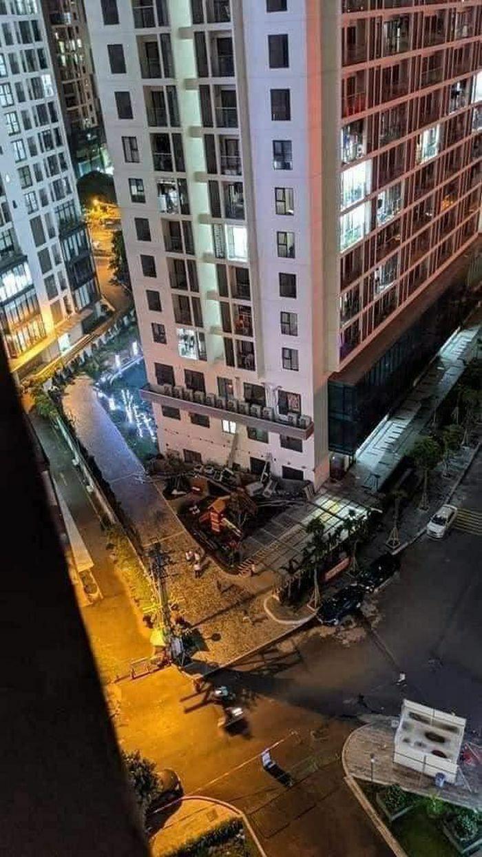 Hé lộ nguyên nhân ban đầu vụ sập dàn cục nóng điều hòa tại An Bình Plaza