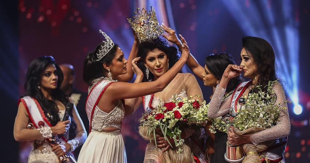 Hoa hậu Quý bà Sri Lanka bị bắt