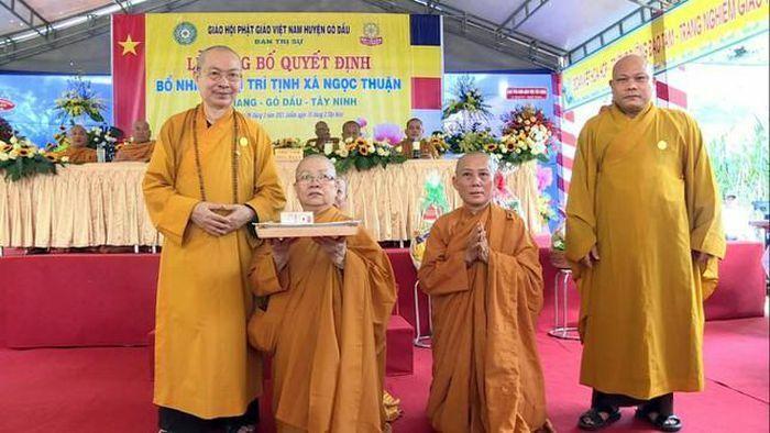 Tây Ninh: Bổ nhiệm trụ trì tịnh xá Ngọc Thuận