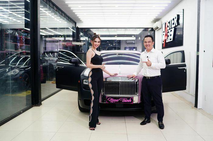 Ngọc Trinh sở hữu thêm Rolls-Royce Ghost, cá nhân hóa với gói độ 2 tỷ đồng