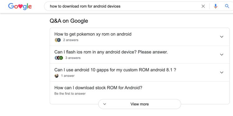 Google sẽ ngừng tính năng Q&A trên Google Search