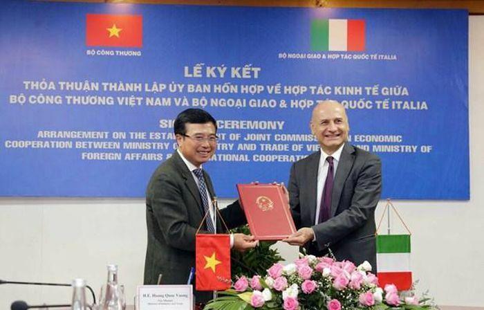 Việt Nam-Italy có thể cùng hợp tác trong các lĩnh vực có lợi ích chung