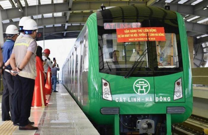 Tàu đường sắt trên cao Cát Linh – Hà Đông khi vận hành chính thức có giá vé bao nhiêu?