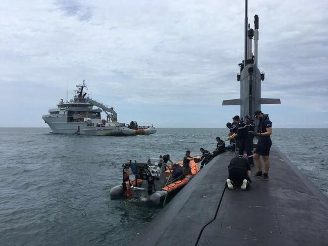Tàu ngầm Pháp tuần tra bí mật dưới lòng Biển Đông và điều chỉnh chiến lược của các cường quốc
