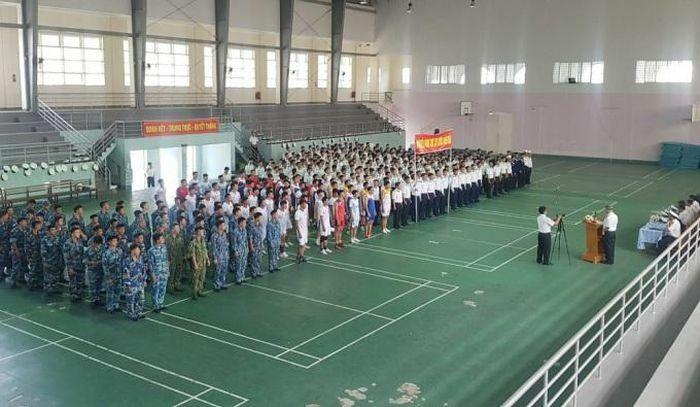 Học viện Hải quân khai mạc hội thao thể dục thể thao năm 2021