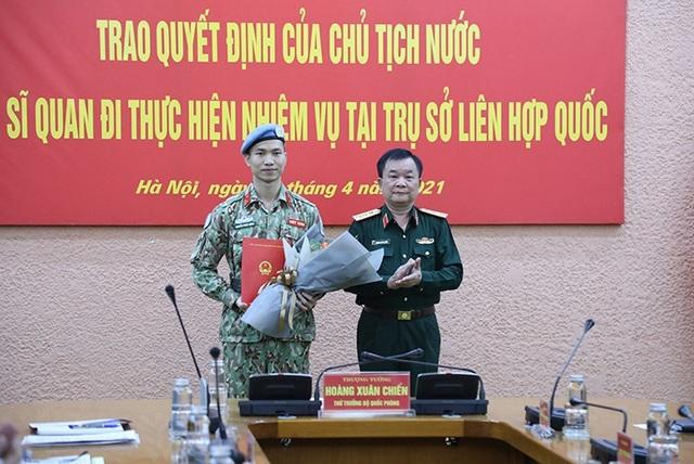 Chủ tịch nước cử sĩ quan Việt Nam thứ 3 đi làm việc tại Liên hợp quốc