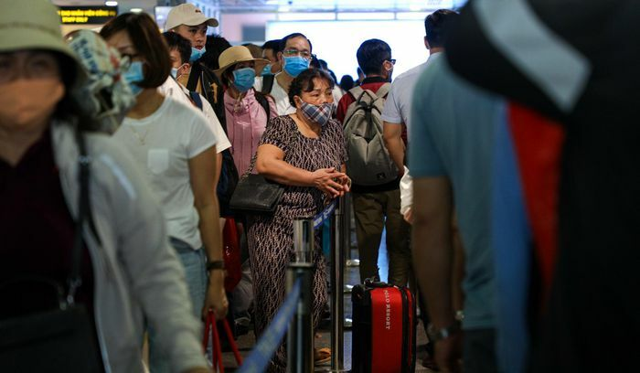 Chuyện gì đang diễn ra ở nhà ga sân bay Tân Sơn Nhất?