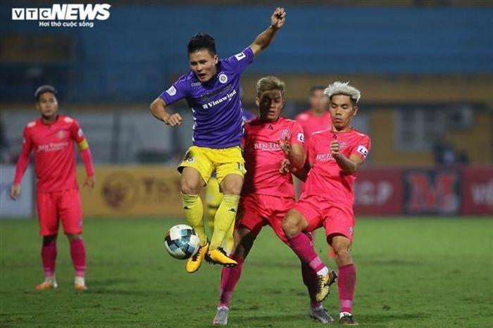 Trận Hà Nội FC vs Sài Gòn FC không đón khán giả