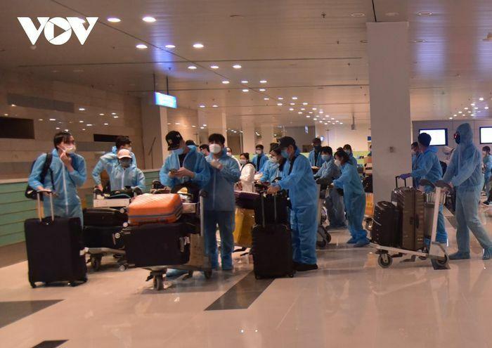 343 công dân Việt Nam về nước được cách ly tại Bạc Liêu