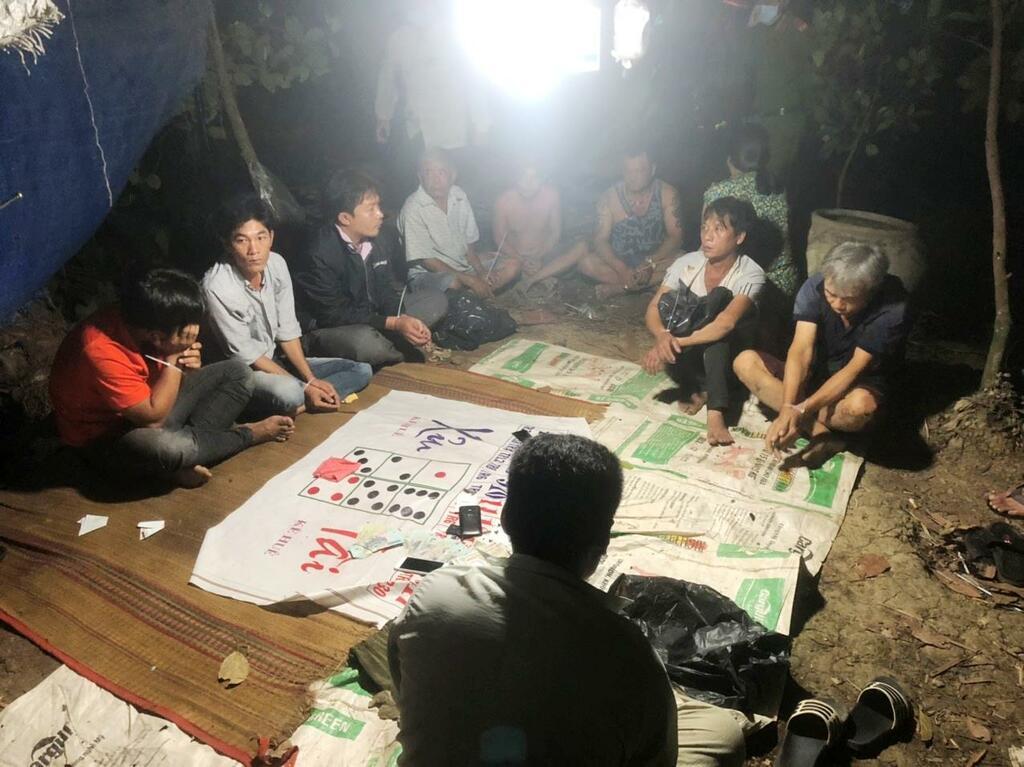 Thêm 2 sòng bạc ở Tiền Giang bị triệt phá