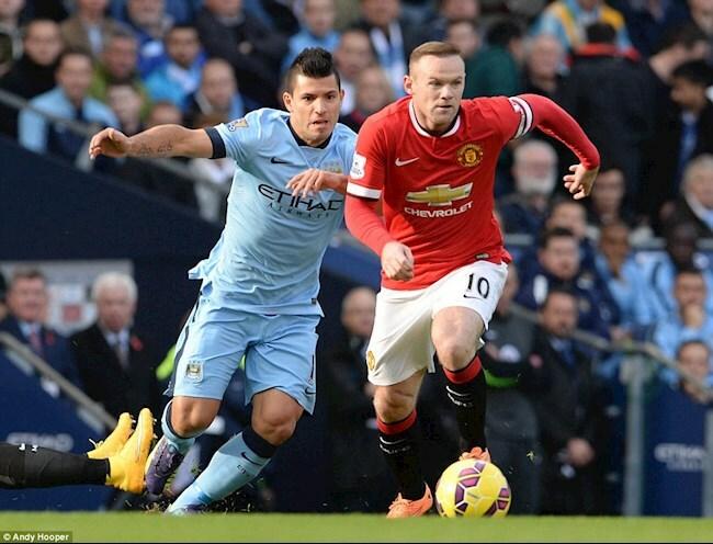 Wayne Rooney lên tiếng về khả năng Sergio Aguero tới MU
