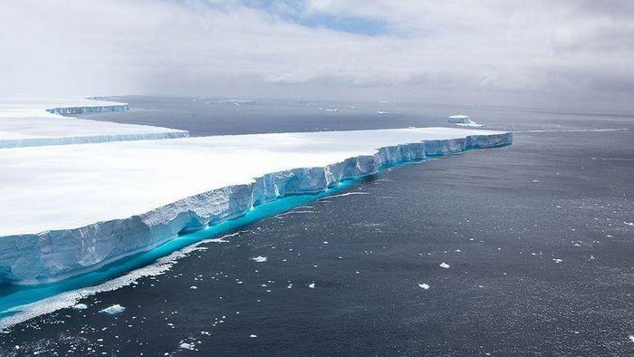 Tảng băng trôi khổng lồ ở Nam Cực đã tan chảy hoàn toàn