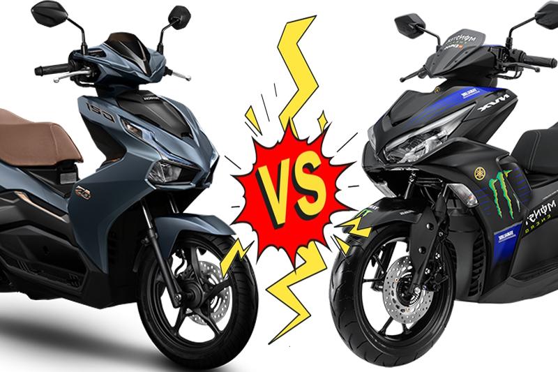So sánh Honda Airblade 150 và Yamaha NVX 155: Lợi thế kẻ đến sau