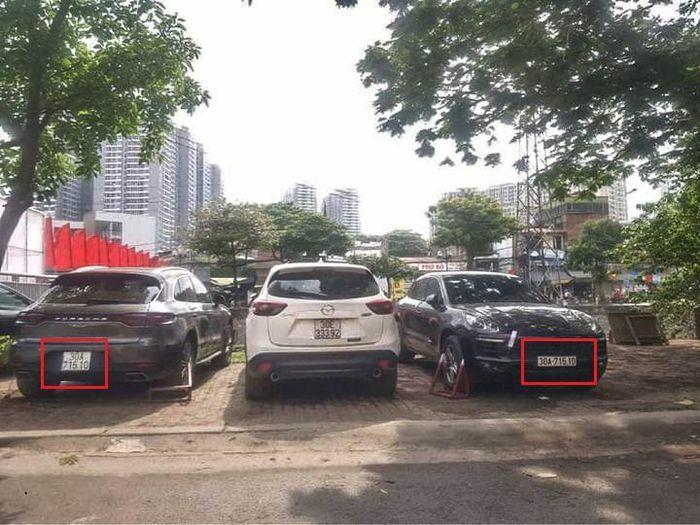 """Truy tìm tài xế xe biển số giả vụ 2 ô tô Porsche cùng biển số """"chạm mặt"""" nhau"""