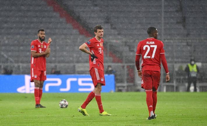 Thua đau PSG, Bayern lỡ cơ hội cân bằng kỷ lục của MU