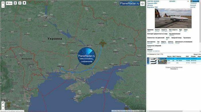 UAV Bayraktar TB2 của Thổ Nhĩ Kỳ lần đầu tiên được phát hiện ở Donbass