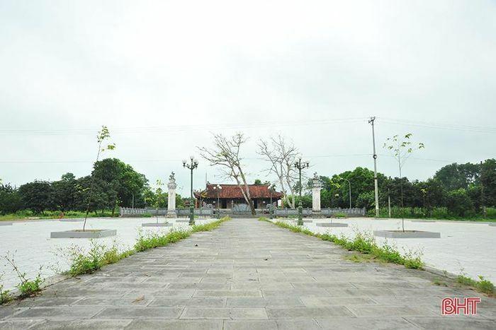 Nhiều giá trị lịch sử, văn hóa ở cụm di tích huyện miền núi Hà Tĩnh
