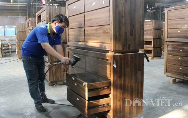 Xuất khẩu gỗ: Đơn hàng kín cả năm, doanh nghiệp chưa hết lo