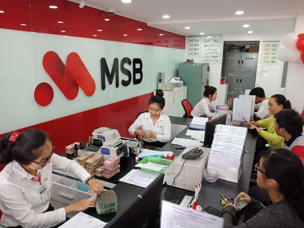 Lợi nhuận quý I của MSB tăng 4 lần so với cùng kỳ năm ngoái
