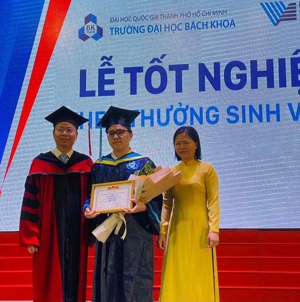 Một sinh viên hoàn thành chương trình tại ĐH Bách khoa TP.HCM trong 3 năm rưỡi, đạt loại giỏi