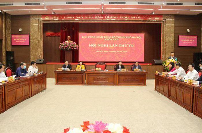 """Bí thư Hà Nội chủ trì cuộc họp bàn nhiều vấn đề """"nóng"""""""