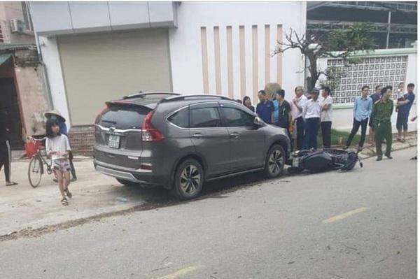 Bắt tạm giam người phụ nữ tông chết 2 mẹ con ở Phú Thọ