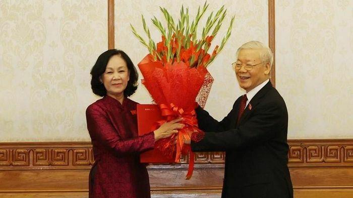 Bà Trương Thị Mai được phân công làm Trưởng Ban Tổ chức Trung ương