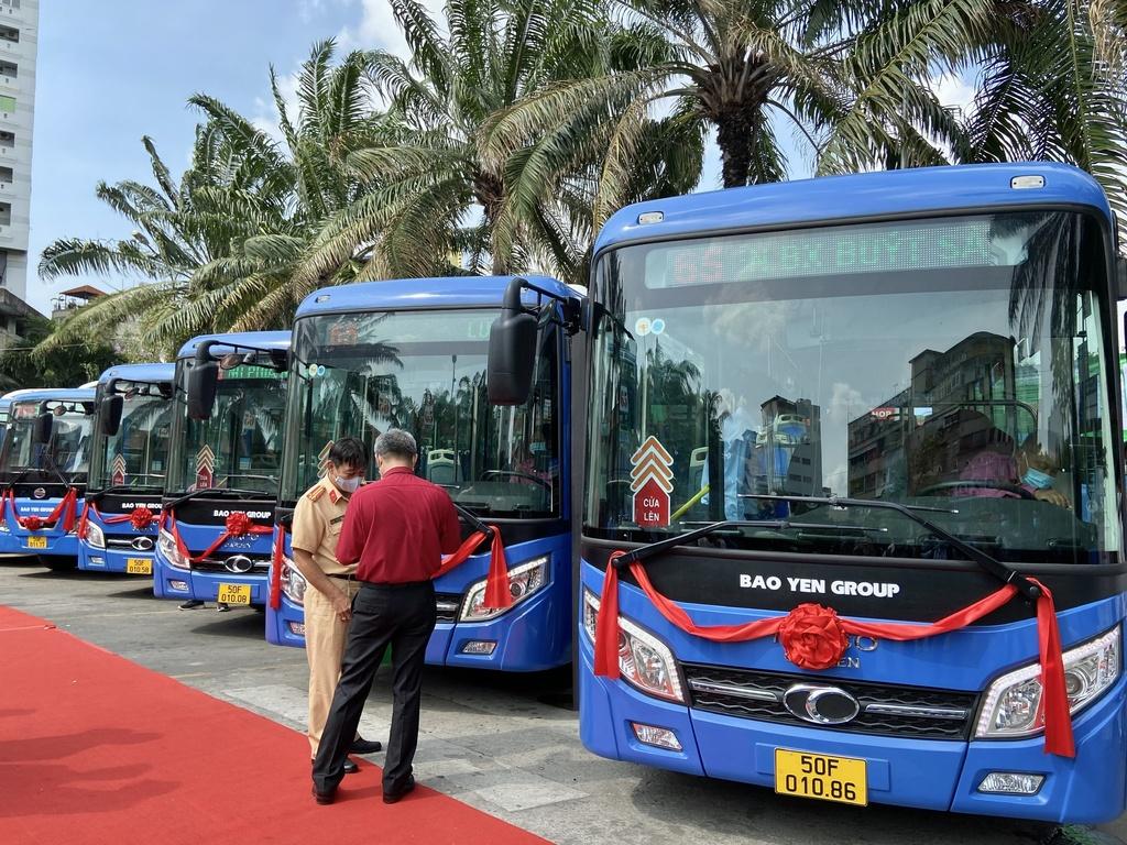 TP.HCM đấu thầu thành công 4 tuyến buýt đầu tiên