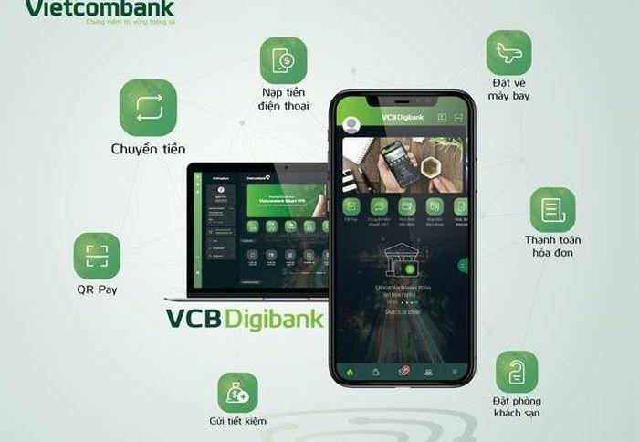 Vietcombank điều chỉnh, bổ sung tính năng trên VCB Digibank