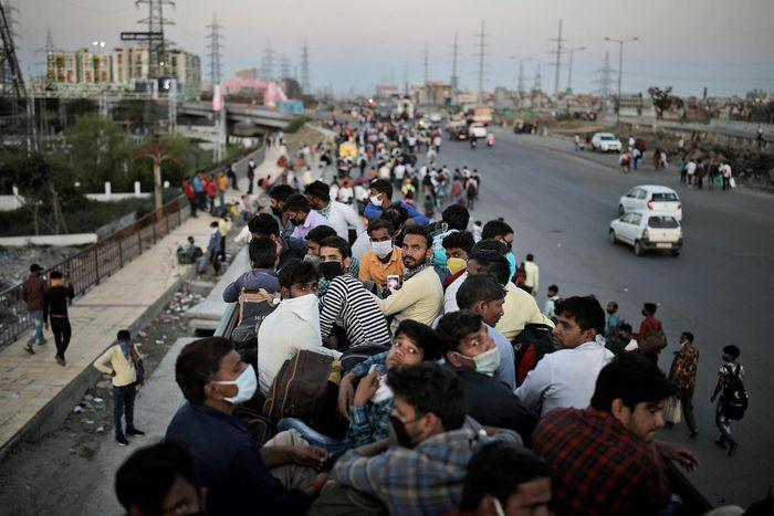 Sự nguy hiểm của biến chủng kép khiến ca mắc tại Ấn Độ tăng kỷ lục