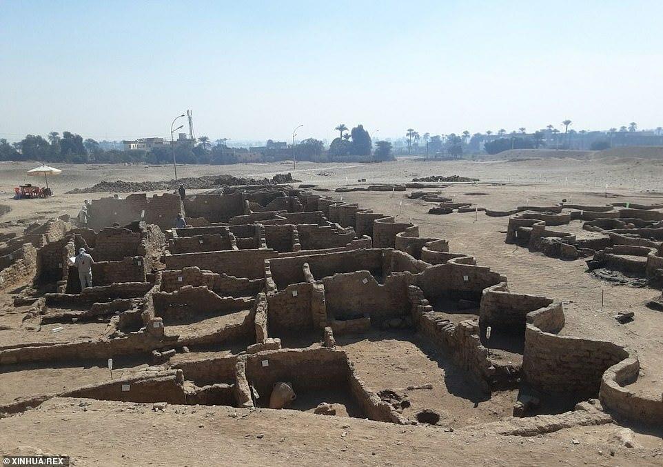 Phát hiện thành phố cổ đại lớn nhất, 3.400 năm tuổi gây chấn động Ai Cập