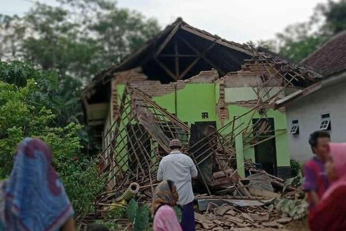 6 người thiệt mạng trong vụ động đất có độ mạnh 6,0 tại Indonesia