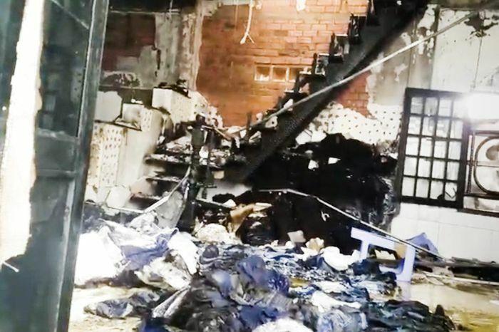 Hỏa hoạn thiêu rụi căn nhà ở TP.HCM