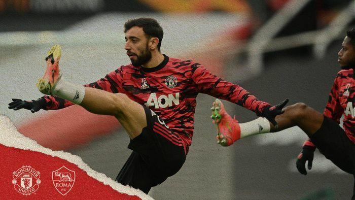 MU 1-0 AS Roma: Bruno Fernandes mở tỷ số sớm (H1)